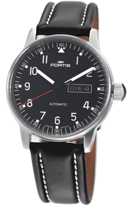 Fortis Mens 595.22.41 L.01 Pilot Professional Day Date Watch
